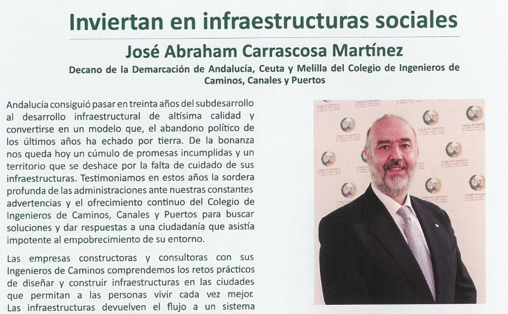 """""""Inviertan en infraestructuras sociales"""""""