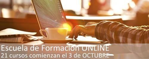 Escuela de Formación Online | OCTUBRE 2016