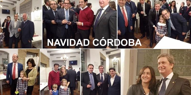 Noche de premios y reconocimientos en la Cena navideña de Córdoba