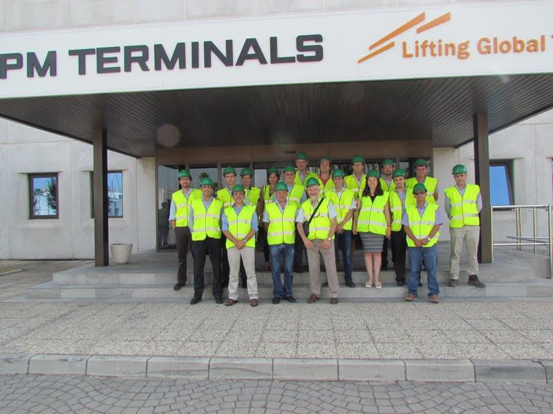 ICE Spain y Gibraltar visitan a la nueva terminal del Puerto de Algeciras