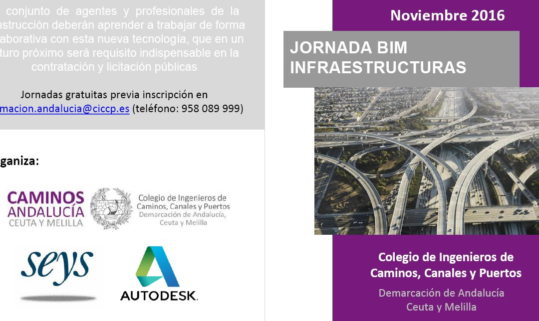 Jornada Técnica: BIM el futuro de las infraestructuras