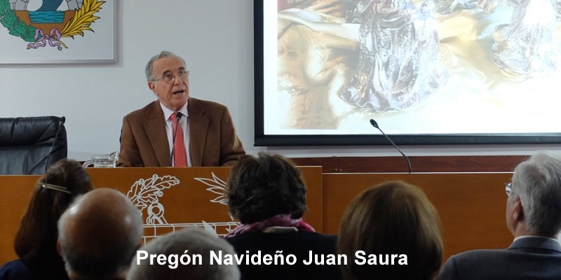El Pregón de Juan Saura Martínez, musical, histórico y emotivo