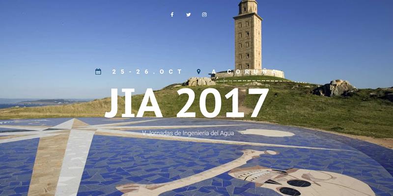 A Coruña. V Jornadas de Ingeniería del Agua – JIA 2017