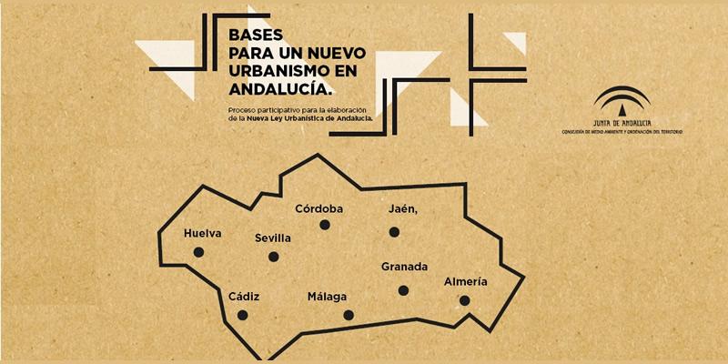 """Andalucía. Jornadas """"Bases para un nuevo urbanismo en Andalucía"""""""