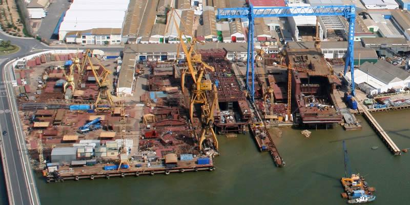 Huelva | Misa, Visita a obra en los Astilleros y Almuerzo Colegial