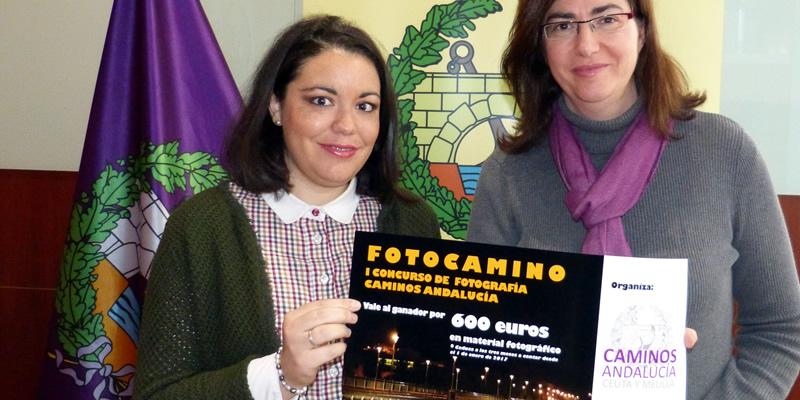 La Demarcación entrega el premio del I concurso fotográfico 'FOTOCAMINO' a la autora de la fotografía 'Tirantes Sostenidos' que muestra un detalle muy especial del Puente de la Constitución de 1812