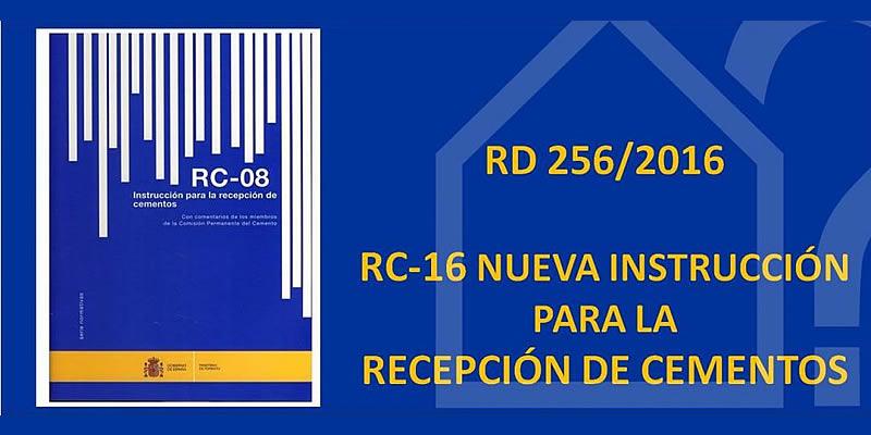 Sevilla. Jornada Instrucción para la recepción de cementos (RC-16)