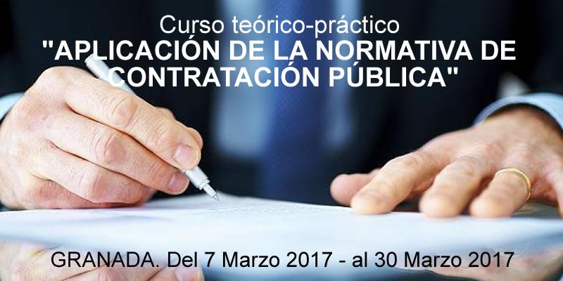 Aplazado .. Curso «Aplicación de la normativa de Contratación Pública»