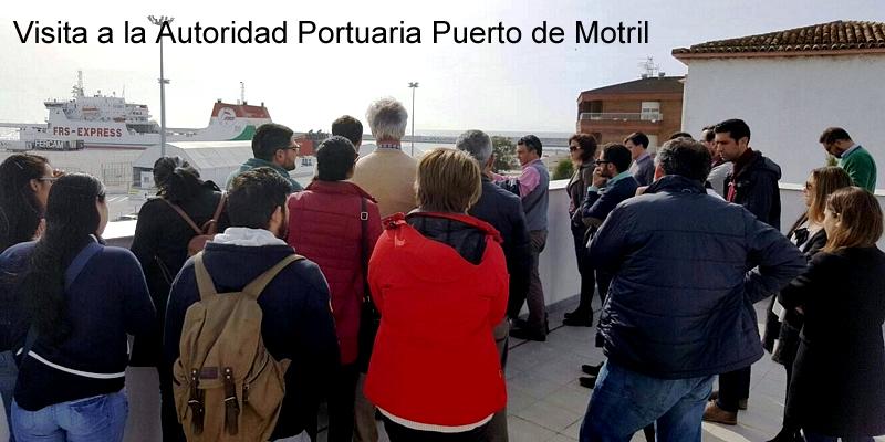 El Puerto de Motril recibe la visita de nuestros compañeros nazaríes