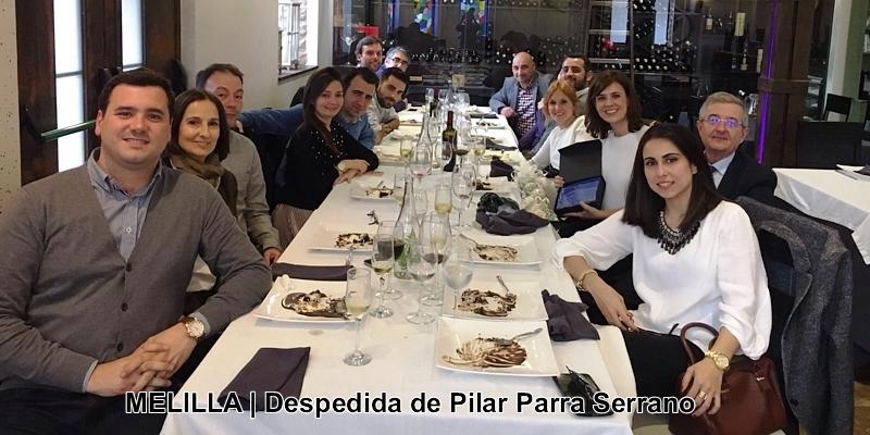 Despedida homenaje a Pilar Parra Serrano, ingeniera muy apreciada por sus compañeros melillenses