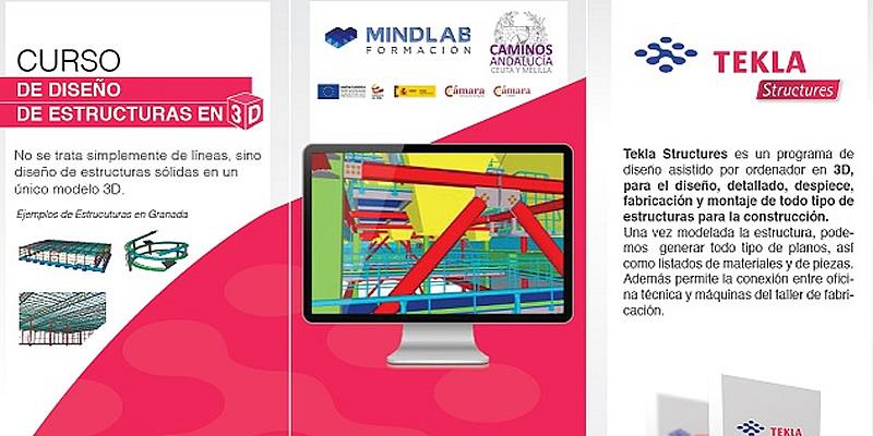 Granada. Curso de Tekla Structures, en colaboración con Cámara Comercio Granada