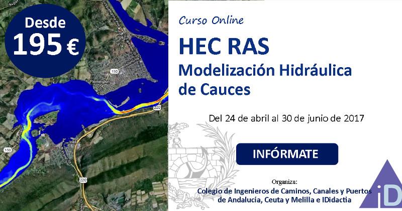 """IDidactia. Curso """"Modelización Hidráulica de Cauces con HEC RAS"""""""