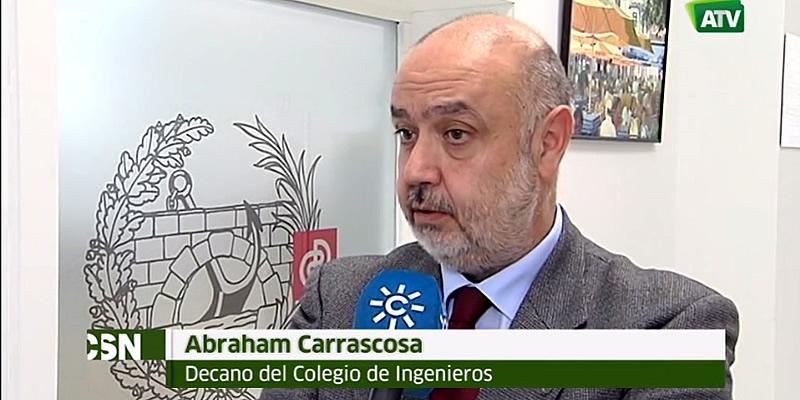 Entrevista al Decano realizada por Canal Sur TV sobre el Corredor Ferroviario