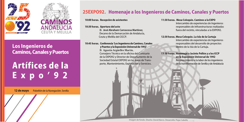 Homenaje a los ICCP en el 25 aniversario de la EXPO92