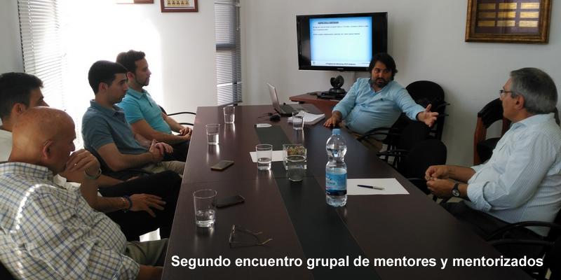 Los mentorizados se reencuentran con la profesión y definen sus potencialidades