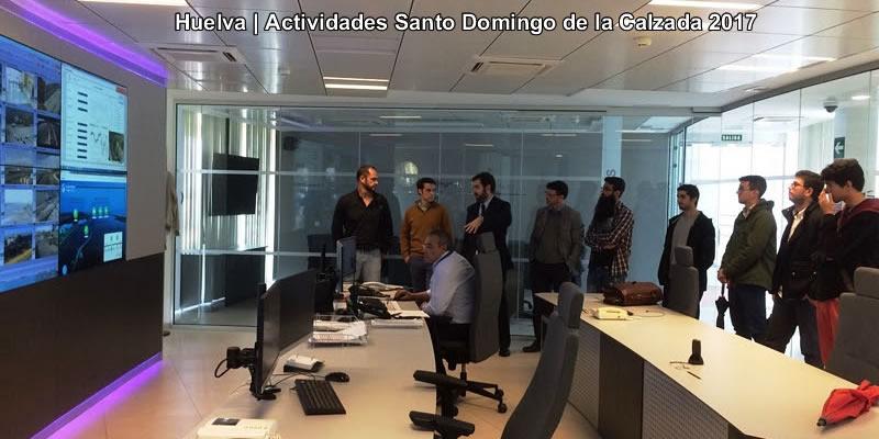 Ingenieros de caminos celebran Santo Domingo en Huelva con una visita a las obras del Puerto