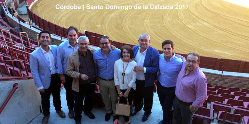 Una comida muy taurina por el patrón en Córdoba
