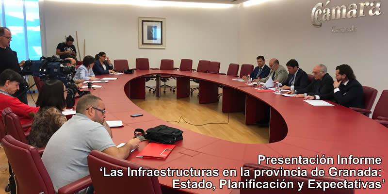Los Ingenieros de Caminos, Canales y Puertos detectan 350 infraestructuras necesarias en la provincia de Granada