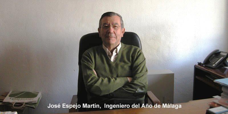 José Espejo Martín, director y fundador de TECPLAN, Ingeniero del Año de Málaga