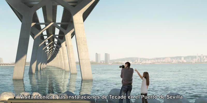 Sevilla | Visita técnica a las instalaciones de TECADE en el Puerto de Sevilla