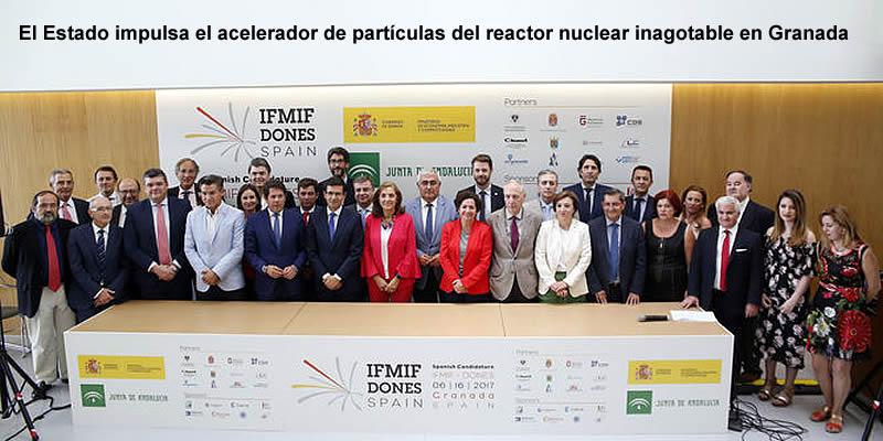 El Estado impulsa que Granada albergue el acelerador de partículas del reactor nuclear inagotable