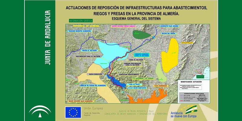 Almería | Visita Técnica a los trasvases Tajo-Segura y Negratín en El Saltador