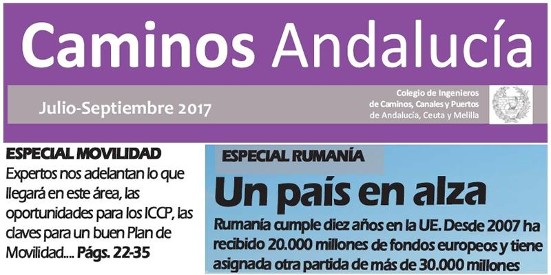 Revista Caminos Andalucía – Julio a Septiembre del 2017