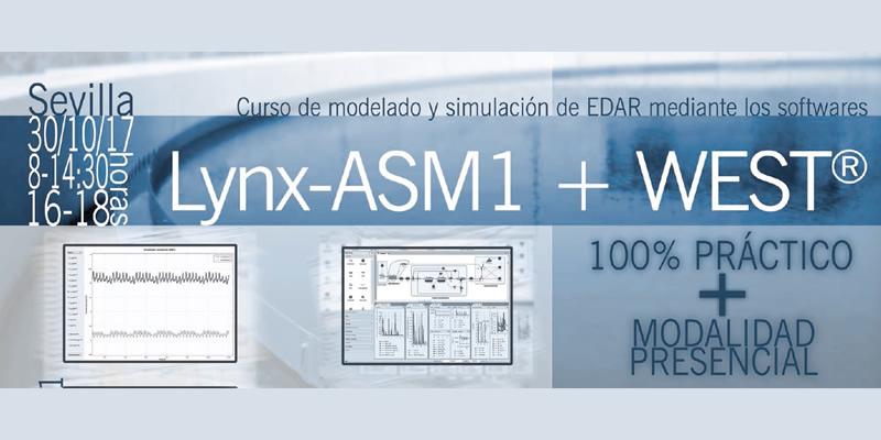 Curso de modelado y simulación de EDAR. Lynx-ASM1 y WEST(R)