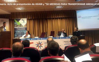 ASIAN presenta en Almería 52 medidas para industrializar la provincia