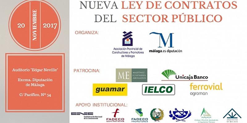 """Málaga. Jornada Técnica """"La Nueva Ley de Contratos del Sector Público"""""""