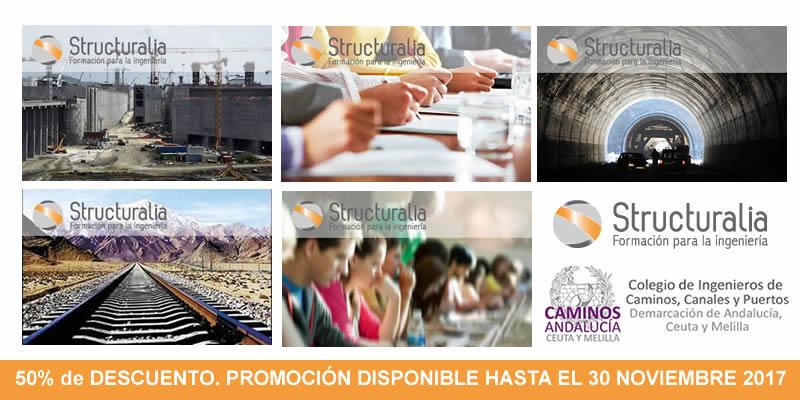 Másteres con Precios Bonificados. Convenio STRUCTURALIA y CAMINOS Andalucía