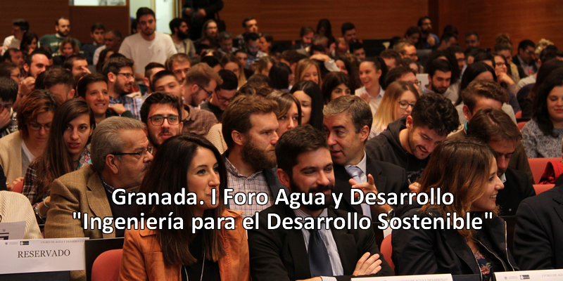 Más de 300 personas asisten al I Foro 'Agua y Desarrollo' organizado por la Cátedra Hidralia+UGR