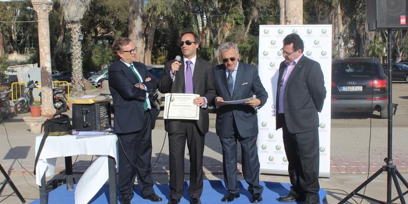 Homenaje a nuestros ingenieros en el encuentro navideño de Málaga