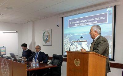 El Presidente del Puerto de Algeciras abre la 9ª edición de los Cursos de Ingeniería Marítima