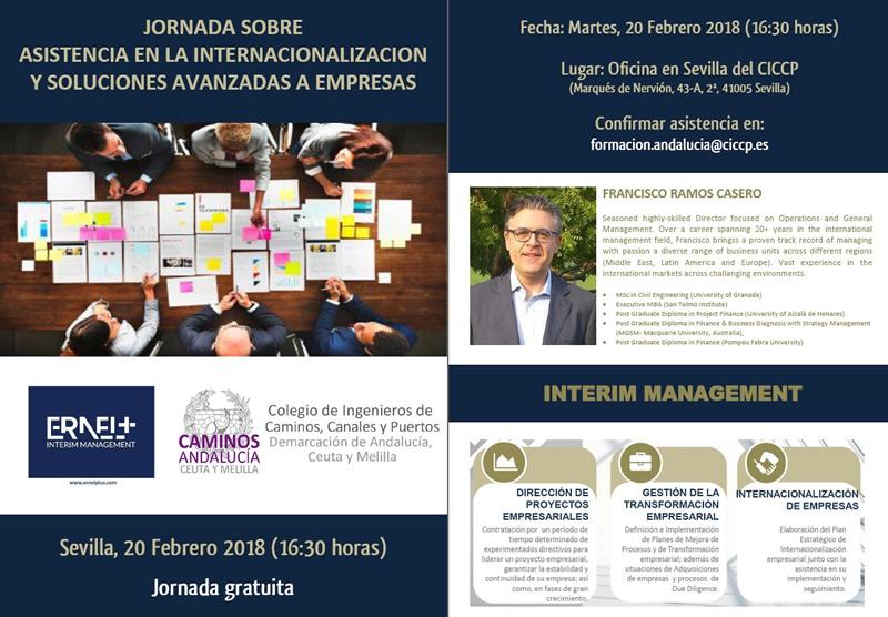 Sevilla. Jornada sobre Asistencia en la Internacionalización y Soluciones Avanzadas a empresas