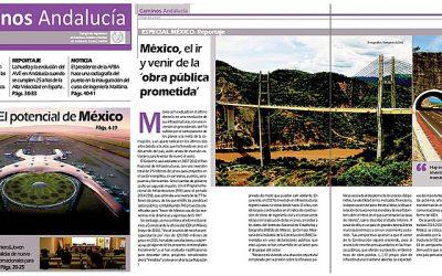 Disponible la revista de Caminos Andalucía OCT NOV DIC 2017