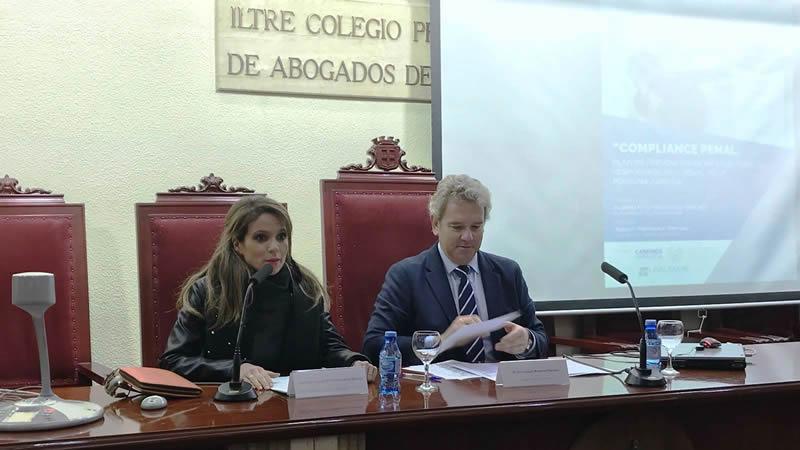 Formación para los colegiados de Almería sobre responsabilidades legales y penales