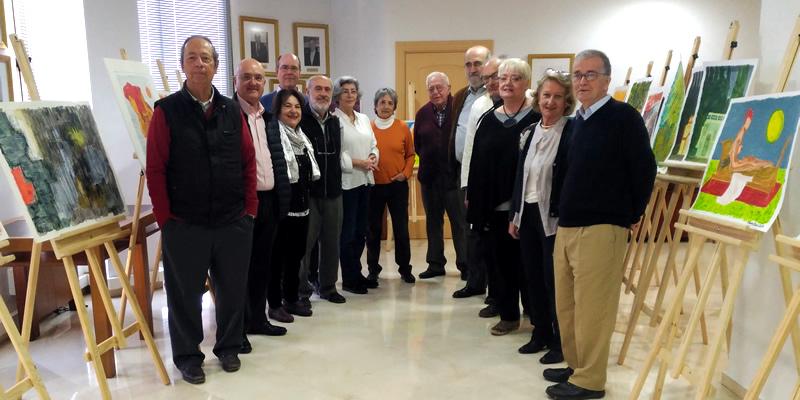 El taller de pintura de Ricardo Ybarra abre el ciclo de charlas artísticas y de artesanía de los colegiados de Sevilla