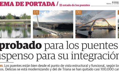 """El Correo de Andalucía. """"El estado de los puentes"""""""