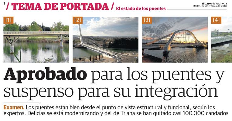 El Correo de Andalucía. «El estado de los puentes»
