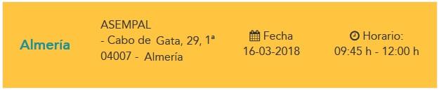 Almería. Jornada de formacion de la nueva Ley de Contratos del Sector Público