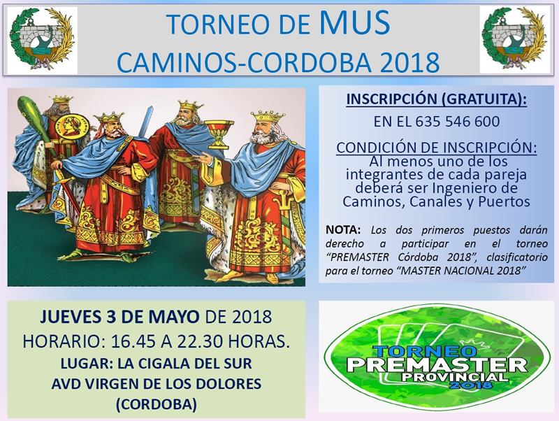 Córdoba | Torneo Mus «Caminos Córdoba»