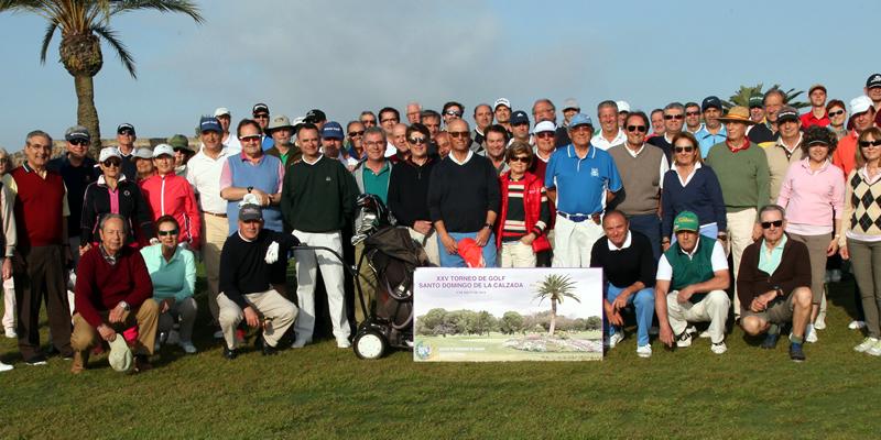 El Torneo de Golf Santo Domingo cumple sus bodas de plata con récord de participación