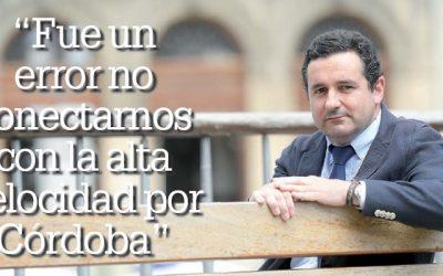 """Entrevista a Ramón Carpena: """"Fue un error no conectarnos con la alta velocidad por Córdoba"""""""