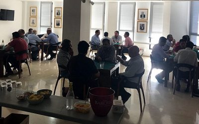 Más de siete horas de sana competitividad en el Campeonato de Mus Santo Domingo de la Calzada de Sevilla