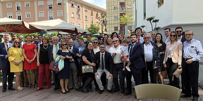 Nutrido cóctel con alta representación colegial  para celebrar el Patrón en Granada