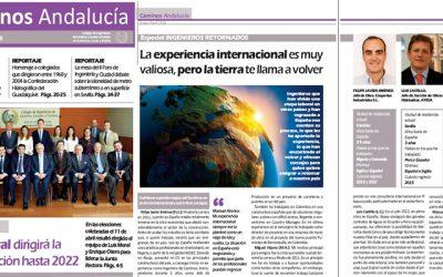 Disponible la revista de Caminos Andalucía ENE FEB MAR ABR 2018