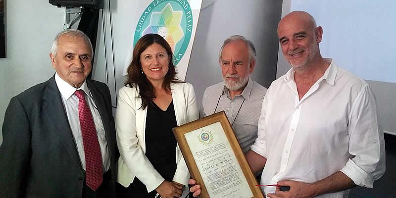 Red Sevilla por el Clima premia al ingeniero Ginés Aparicio