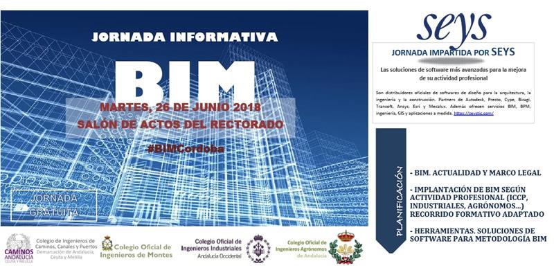 Córdoba. Jornada presentación BIM