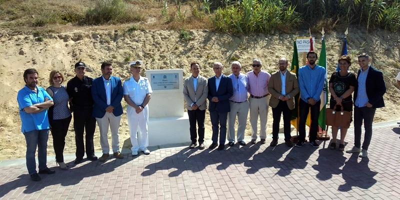 Acompañamos a nuestros compañeros de Cádiz en la inauguración del sendero peatonal dedicado a Blas Lezo en El Puerto